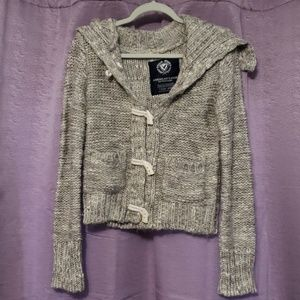 American Eagle Knitted Gray Sweater